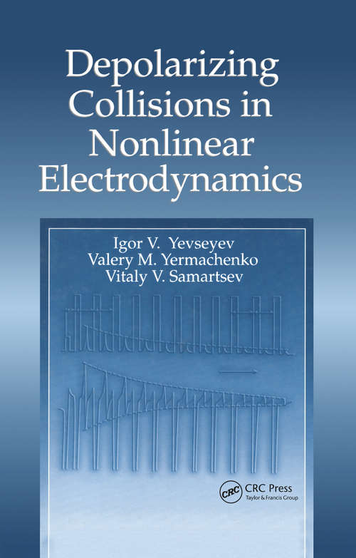 Depolarizing Collisions in Nonlinear Electrodynamics