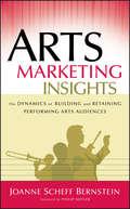 Arts Marketing Insights