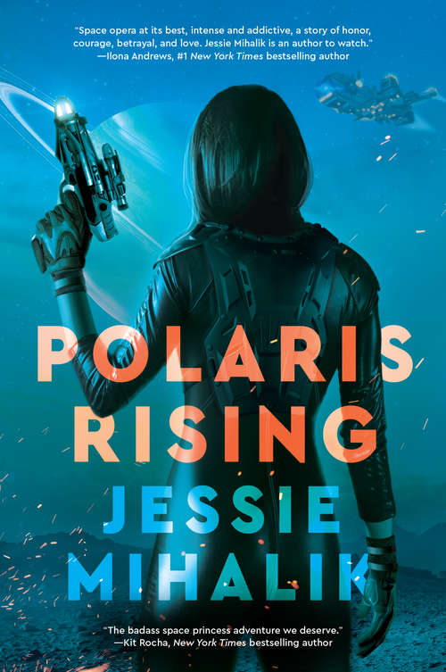 Collection sample book cover Polaris Rising by Jessie Mihalik