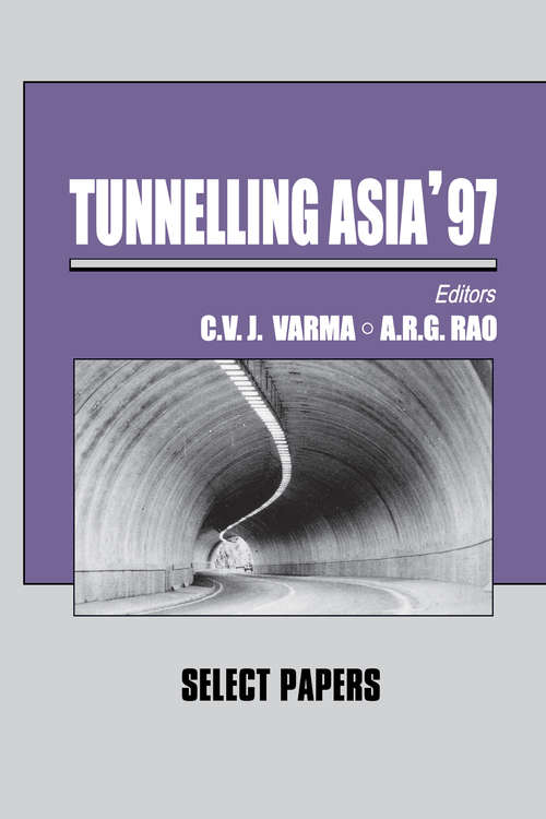 Tunnelling Asia '97