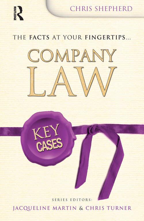 Key Cases: Company Law (Key Cases)