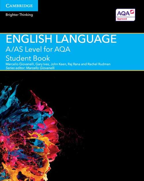 A/AS Level English Language For AQA Student Book (PDF) | UK