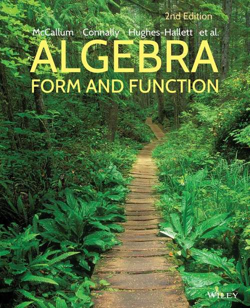 Algebra: Form and Function (Second Edition)