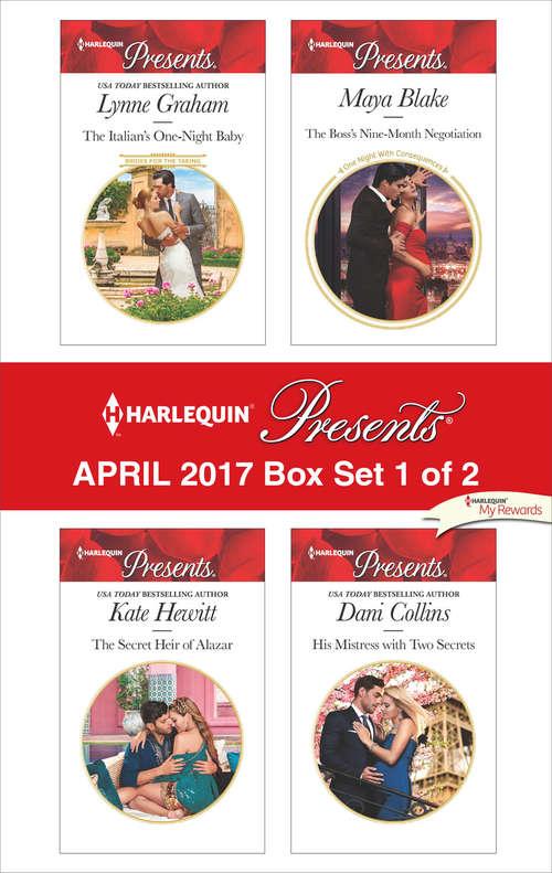 Harlequin Presents April 2017 - Box Set 1 of 2: An Anthology