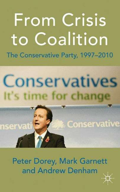From Crisis to Coalition