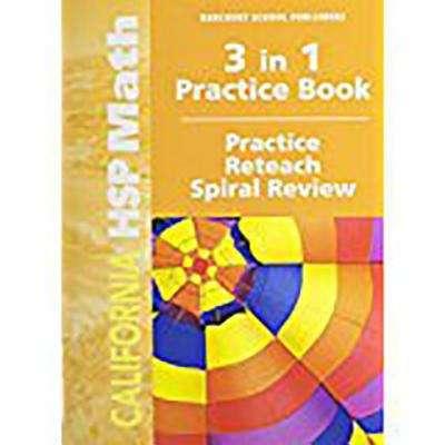 California HSP Math Grade 5 3 In 1 Practice Book Bookshare