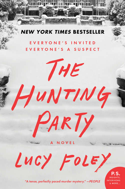 Collection sample book cover The Hunting Party by Lucy Foley
