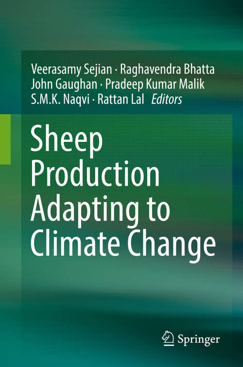 Sheep Production Adapting to Climate Change