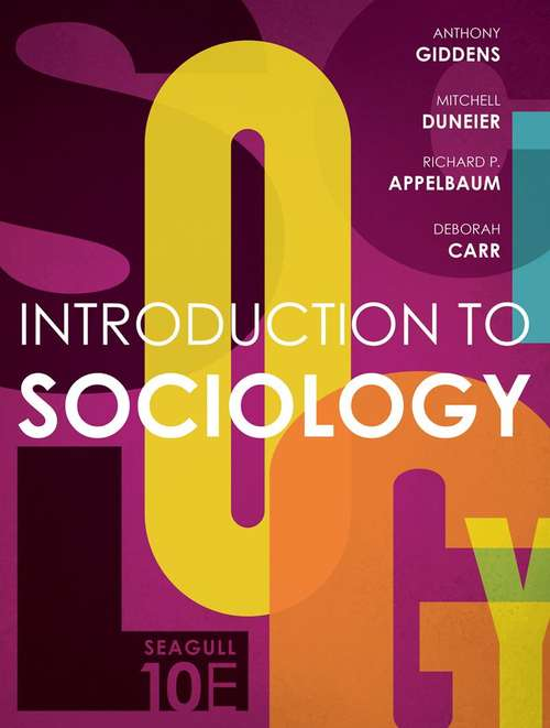 Introduction to Sociology (Seagull 10th Edition)