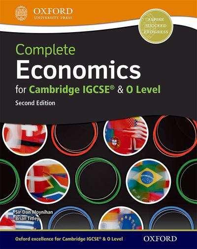complete economics for cambridge igcse and o level second edition