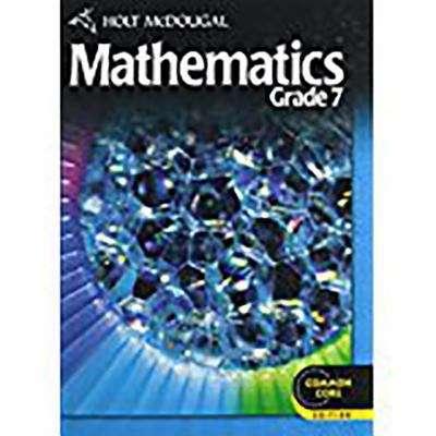 Holt McDougal Mathematics: Grade 7