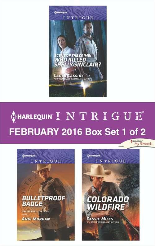 Harlequin Intrigue February 2016 - Box Set 1 of 2