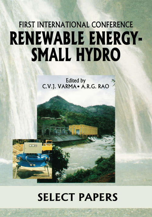 Renewable Energy - Small Hydro