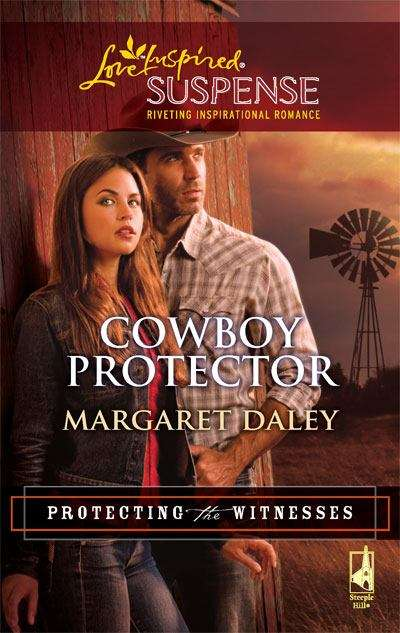 Cowboy Protector (Protecting the Witnesses, Book 3, Love Inspired Suspense)