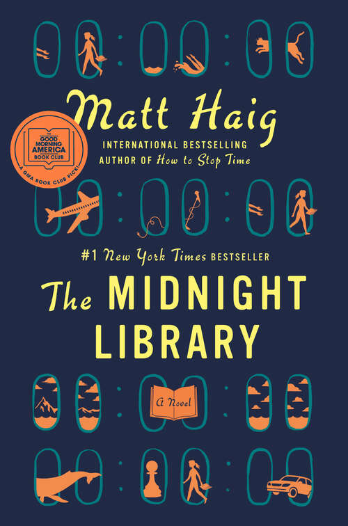 Collection sample book cover The Midnight Library by Matt Haig