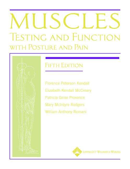 Muscles Testing and Function with Posture and Pain (5th Edition)