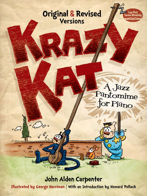 Krazy Kat, A Jazz Pantomime for Piano: Original and Revised Versions (Dover Music for Piano)
