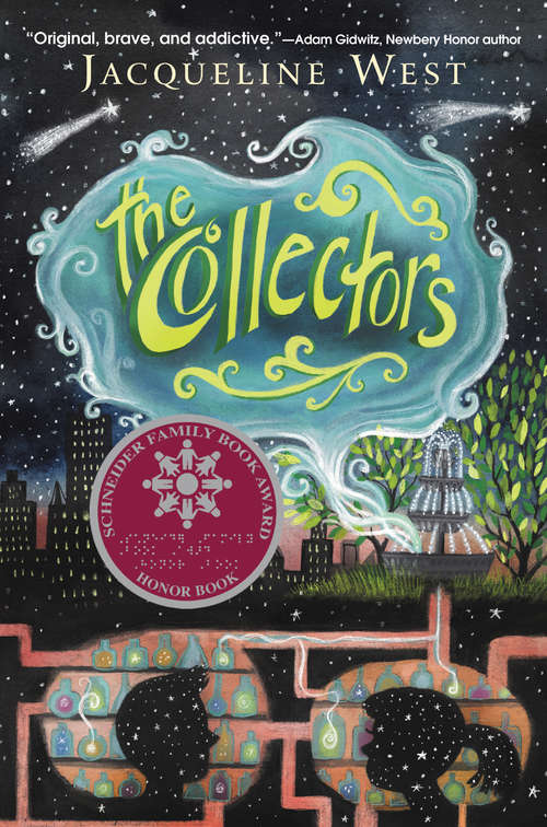 Collection sample book cover The Collectors by Jacqueline West