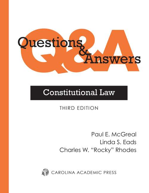 Questions and Answers: Constitutional Law