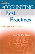 Accounting Best Practices (Wiley Best Practices Ser.)
