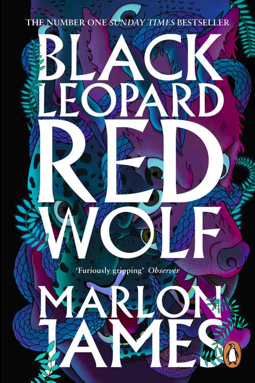 Collection sample book cover Black Leopard, Red Wolf: Dark Star Trilogy Book 1 (Dark Star Trilogy #1) by Marlon James