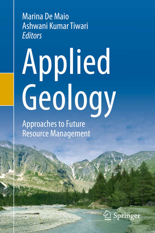 Applied Geology: Approaches to Future Resource Management