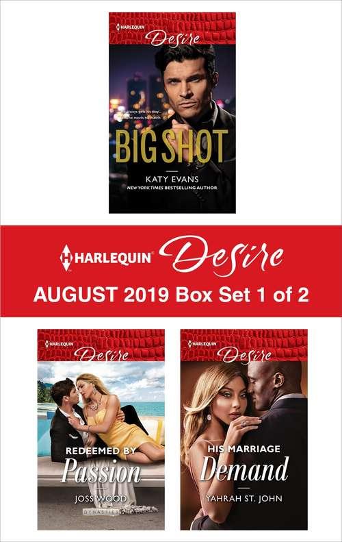 Harlequin Desire August 2019 - Box Set 1 of 2
