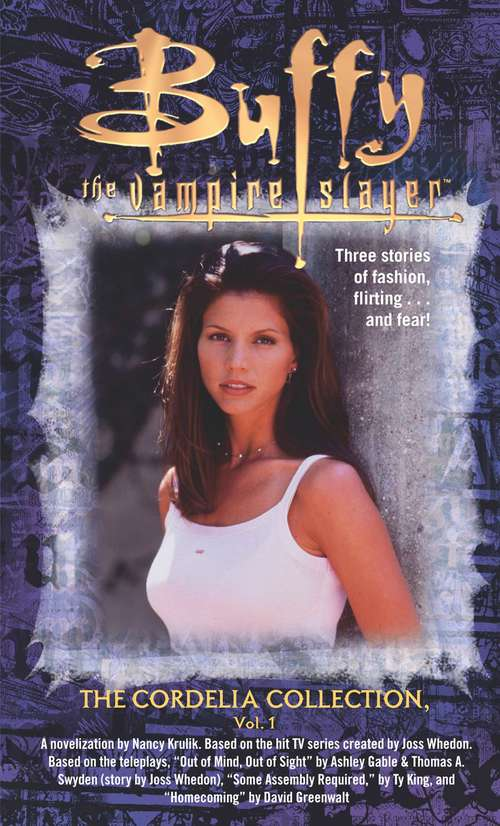 The Cordelia Collection, Volume 1 (Buffy the Vampire Slayer)