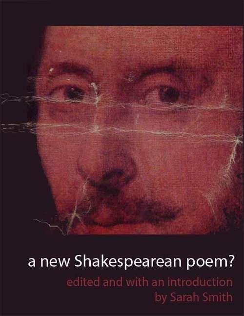 A New Shakespearean Poem?