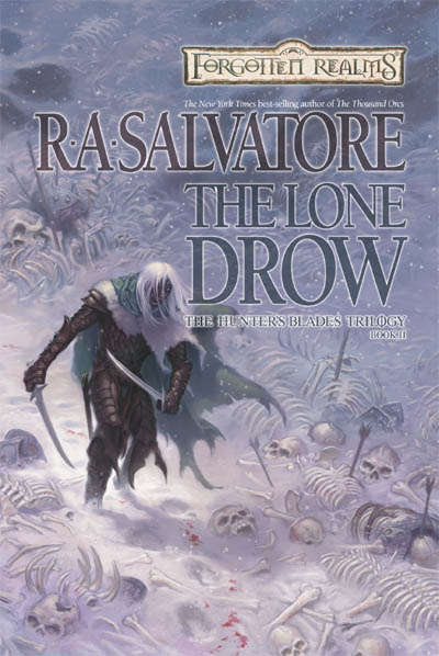 The Lone Drow (Forgotten Realms: The Hunter's Blades Trilogy #2)