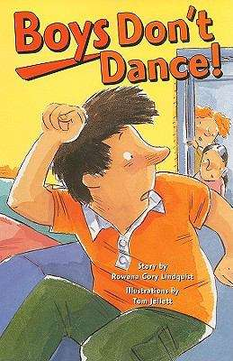 Collection sample book cover Boys Don't Dance!