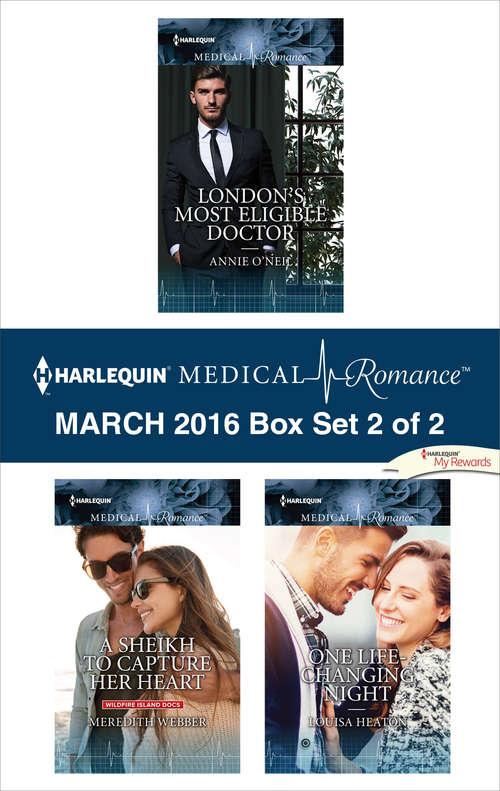 Harlequin Medical Romance March 2016 - Box Set 2 of 2
