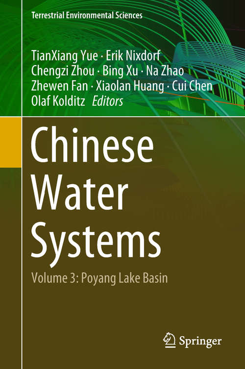 Chinese Water Systems: Volume 3: Poyang Lake Basin (Terrestrial Environmental Sciences)