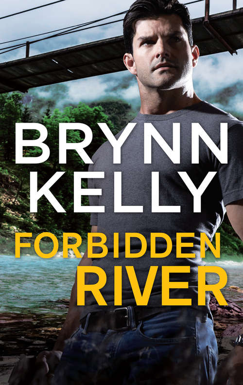 Collection sample book coverForbidden River, a muscular man standing in front of a river