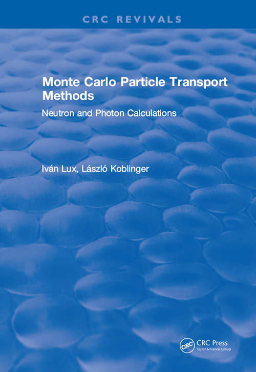 Monte Carlo Particle Transport Methods