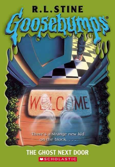 Collection sample book cover The Ghost Next Door (Goosebumps #10) by R. L. Stine