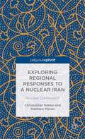 Exploring Regional Responses to a Nuclear Iran: Nuclear Domi-noes?