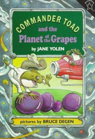 Commander Toad and the Planet of the Grapes (Commander Toad #2)