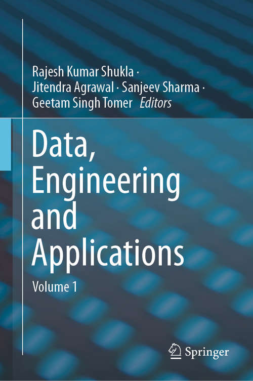 Data, Engineering and Applications: Volume 2