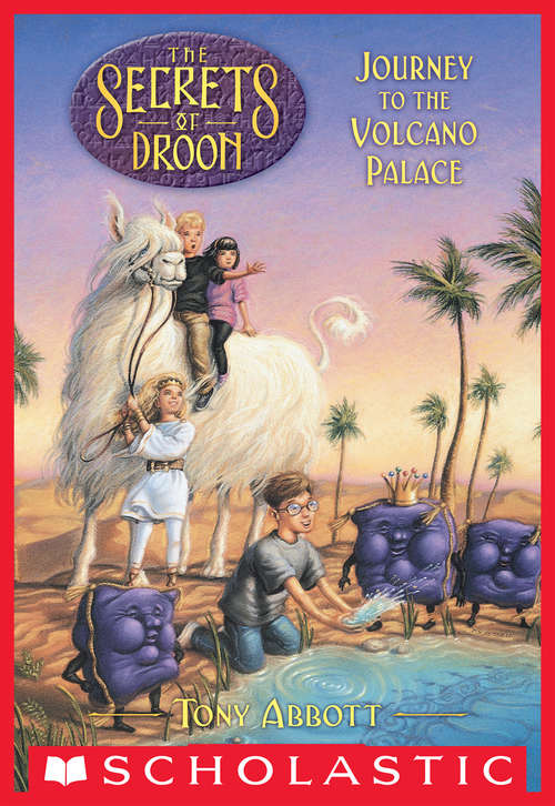 Collection sample book cover Journey to the Volcano Palace (Secrets Of Droon #2)
