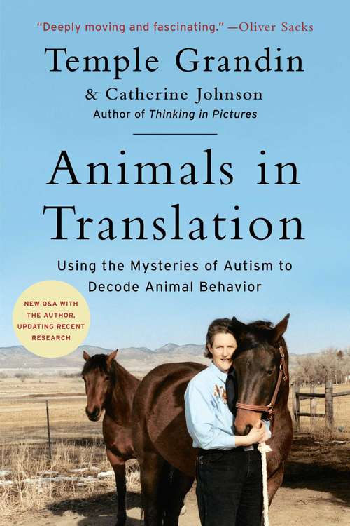 Animals in Translation: Using the Mysteries of Autism to Decode Animal Behavior (Read-On)