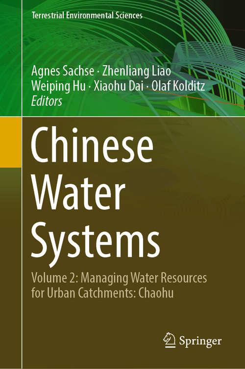 Chinese Water Systems: Volume 3: Poyang Lake Basin (Terrestrial Environmental Sciences Ser.)
