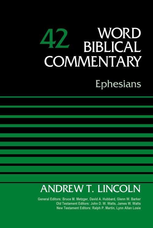 Ephesians, Volume 42