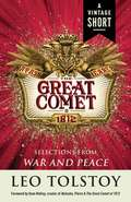 Natasha, Pierre & The Great Comet of 1812: from War and Peace