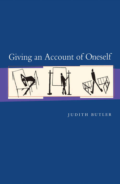 Giving an Account of Oneself