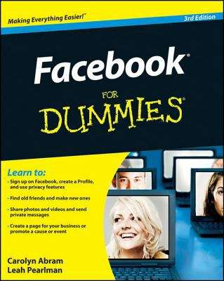 Facebook For Dummies, 3rd Edition