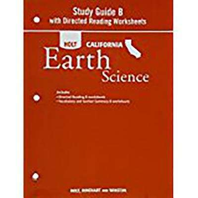 Study Guide B With Directed Readings Worksheets For Holt California