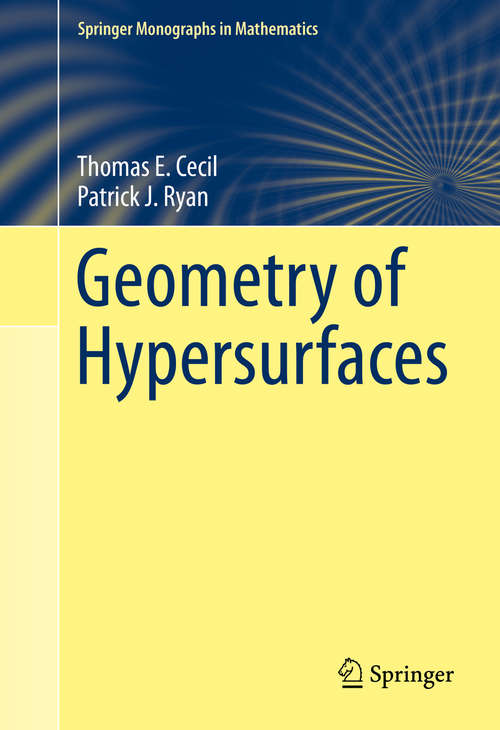 Geometry of Hypersurfaces