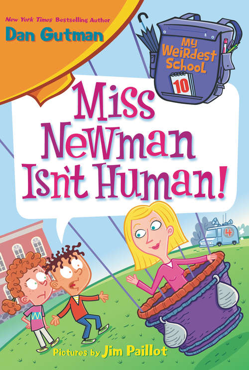 Collection sample book cover Miss Newman Isn't Human