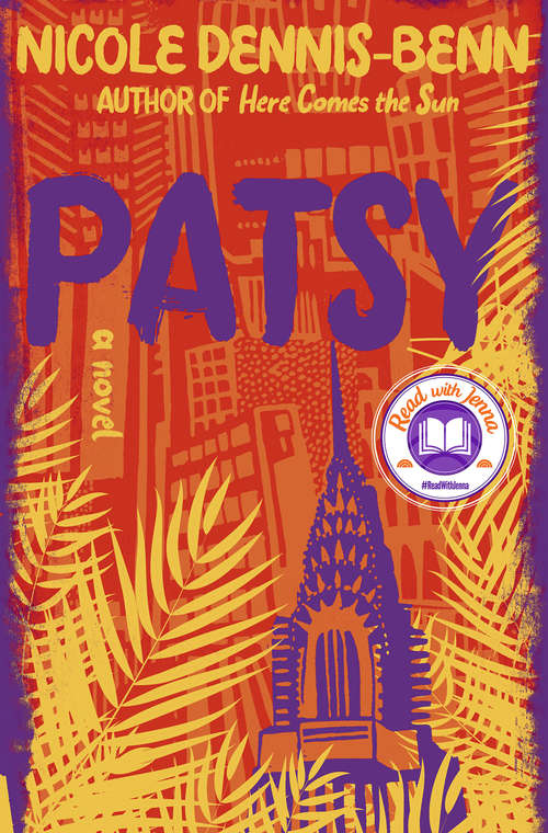 Collection sample book cover Patsy by Nicole Dennis-Benn